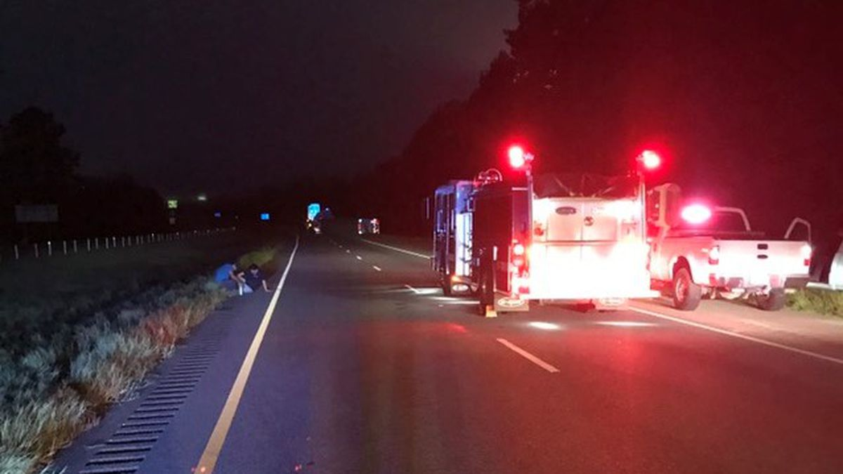 I-65 SB remains closed, NB reopens after crash with hazardous materials