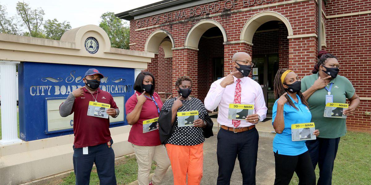 Hyundai donates face masks to Selma City Schools