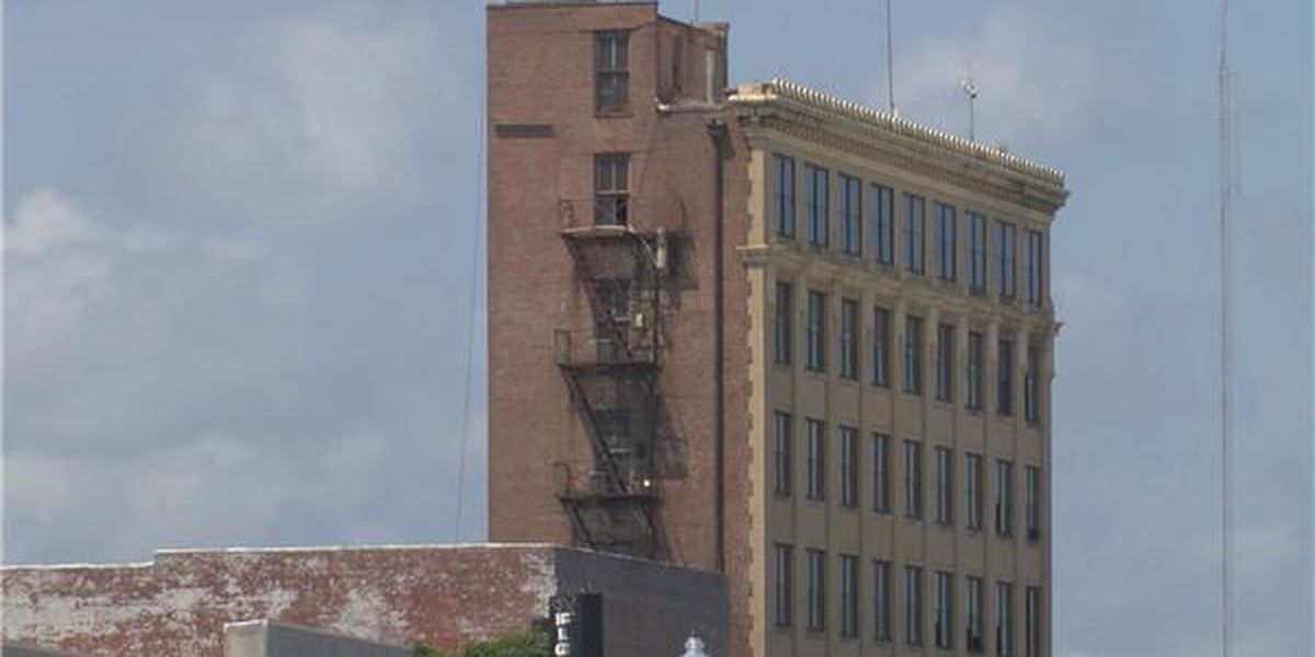 Andalusia's tallest building gets storm damage repairs