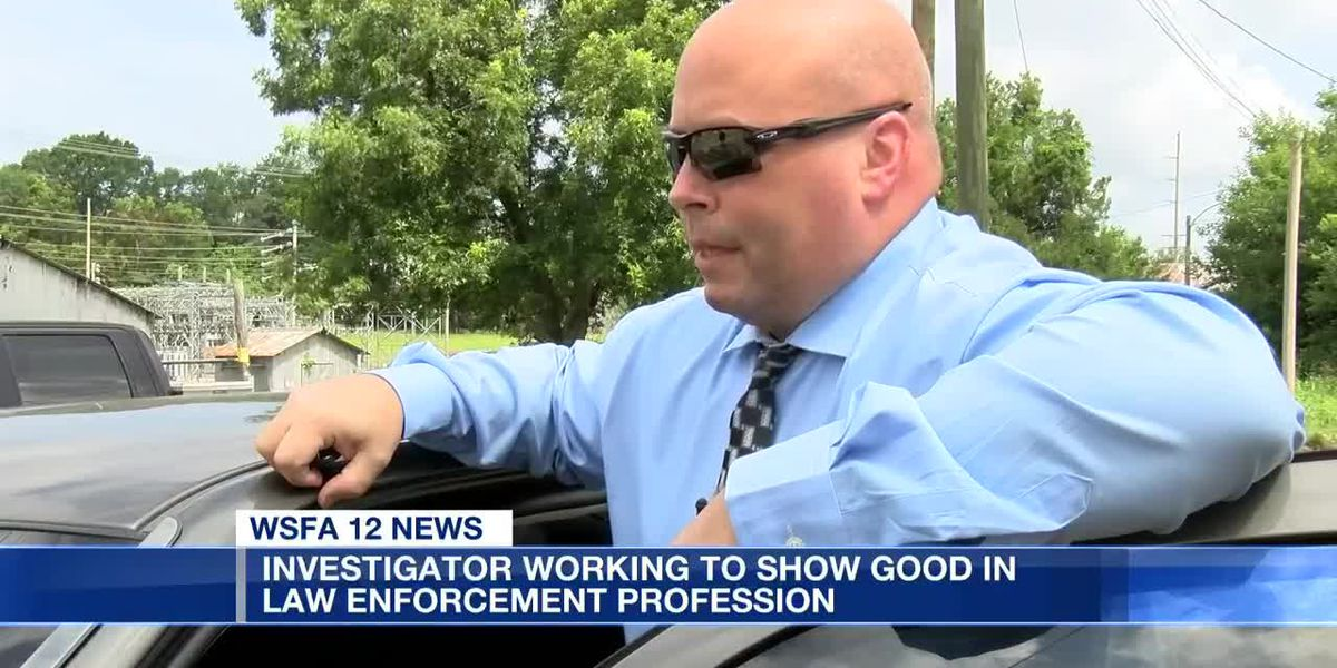 Investigator works to show good in law enforcement