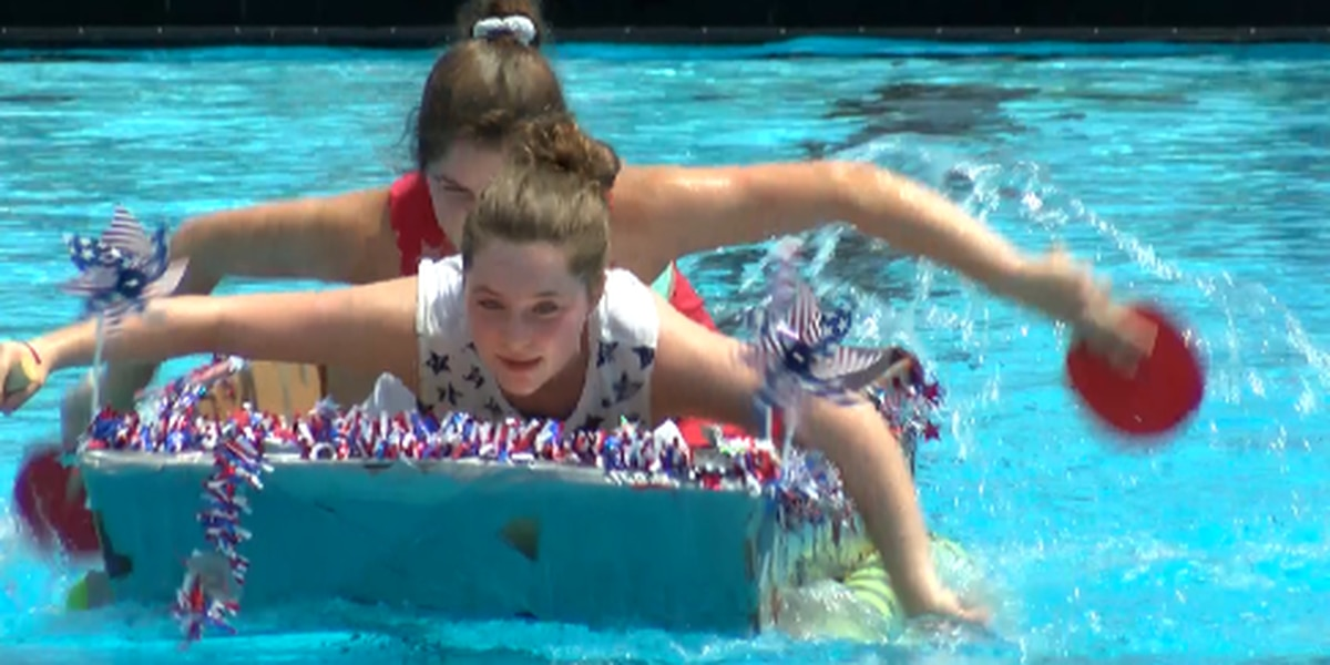 Prattville holds annual carboard boat race