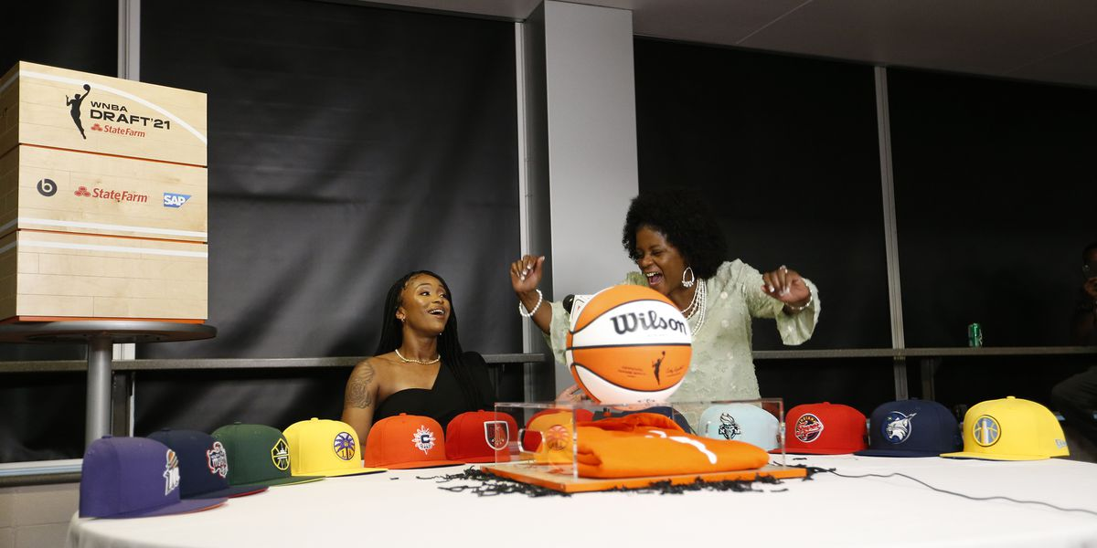 Jeff Davis' Jasmine Walker drafted to Los Angeles Sparks in 2021 WNBA Draft