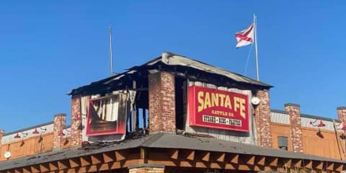 Enterprise restaurant damaged in fire, suspect charged with arson