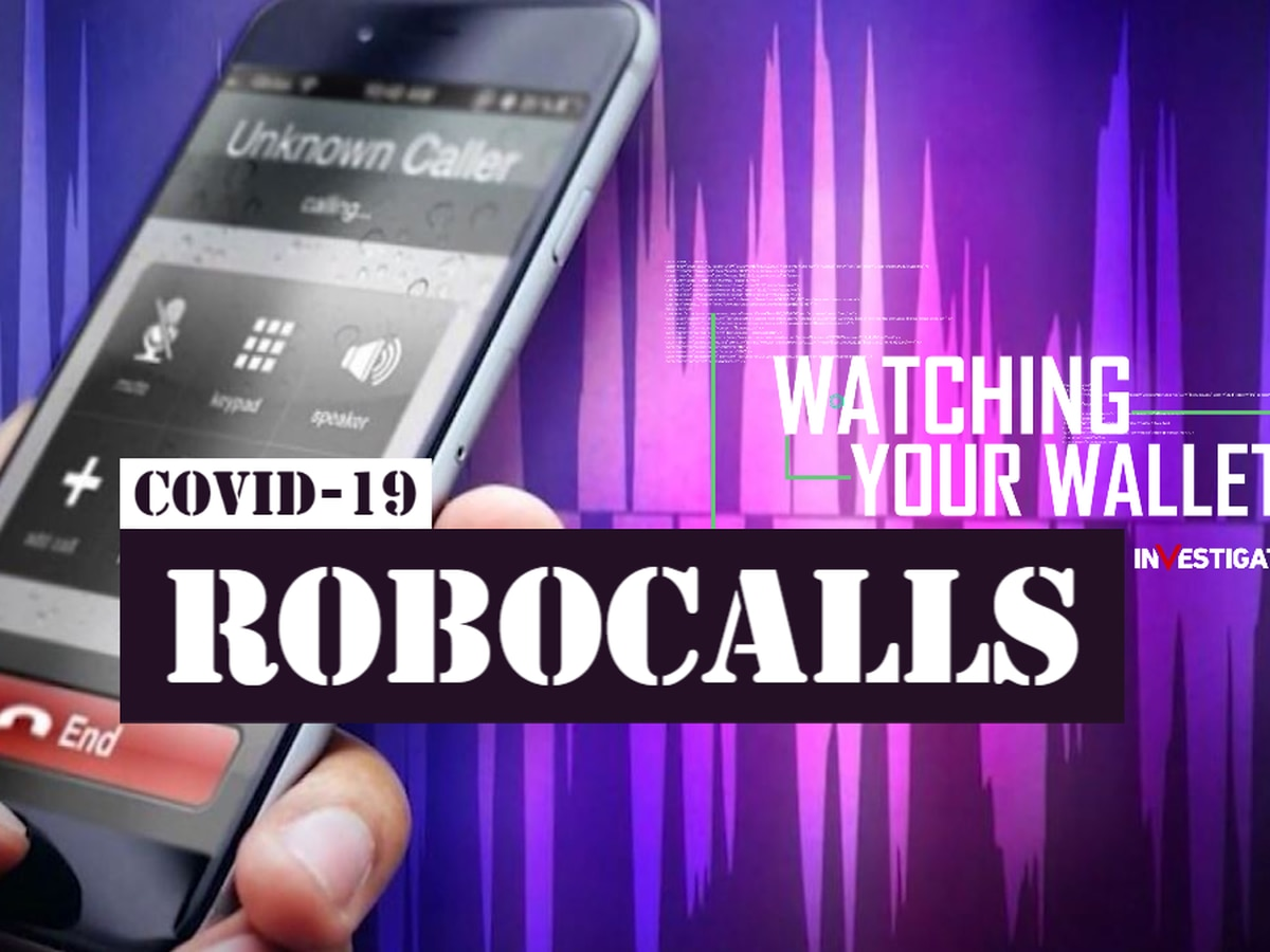 Robocalls advertising fake coronavirus-related products and bogus deals