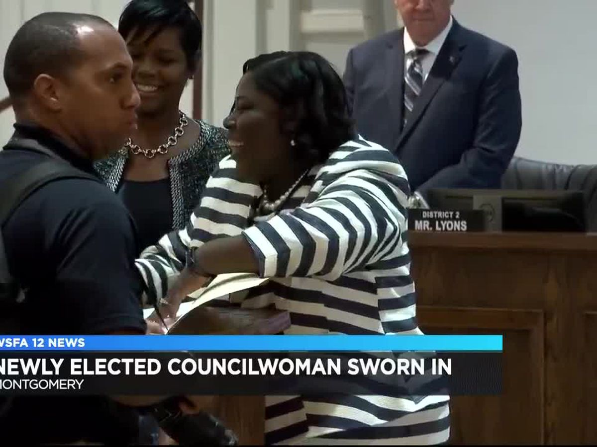 New Montgomery council member sworn in