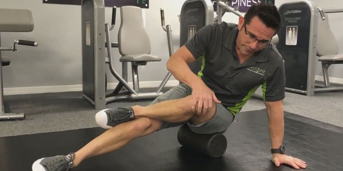 Tennis ball could help rid pain in legs and feet