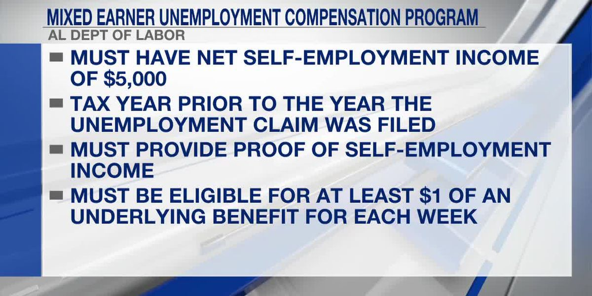 Alabama to join mixed earner unemployment compensation fund