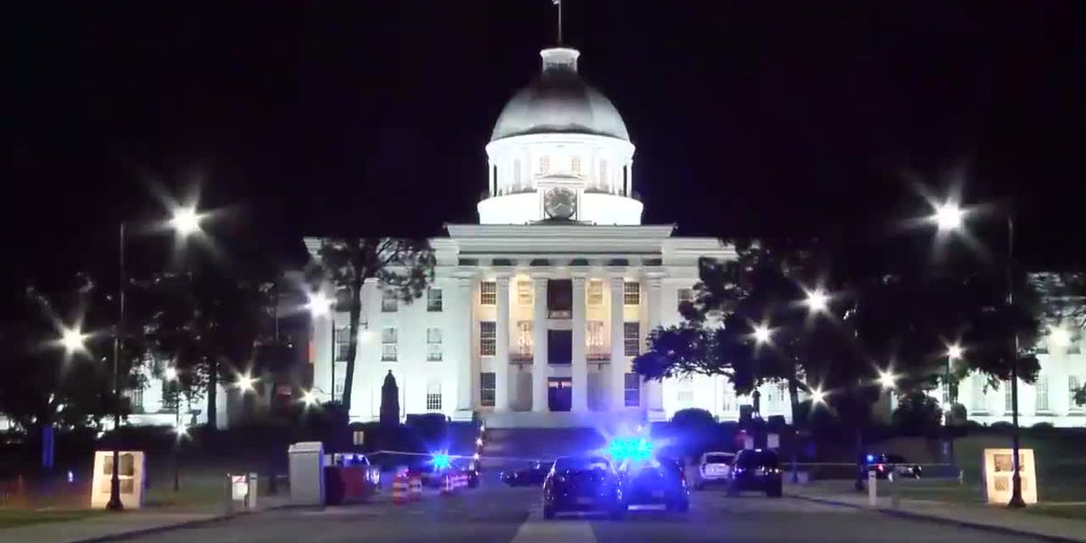 Man's body found on street in front of Alabama Capitol