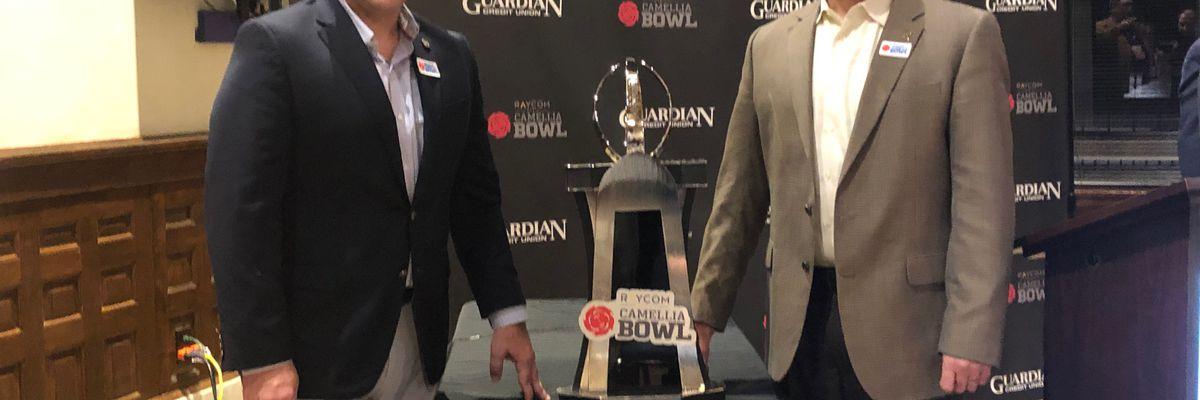 Coaches speak at Camellia Bowl Press Conference