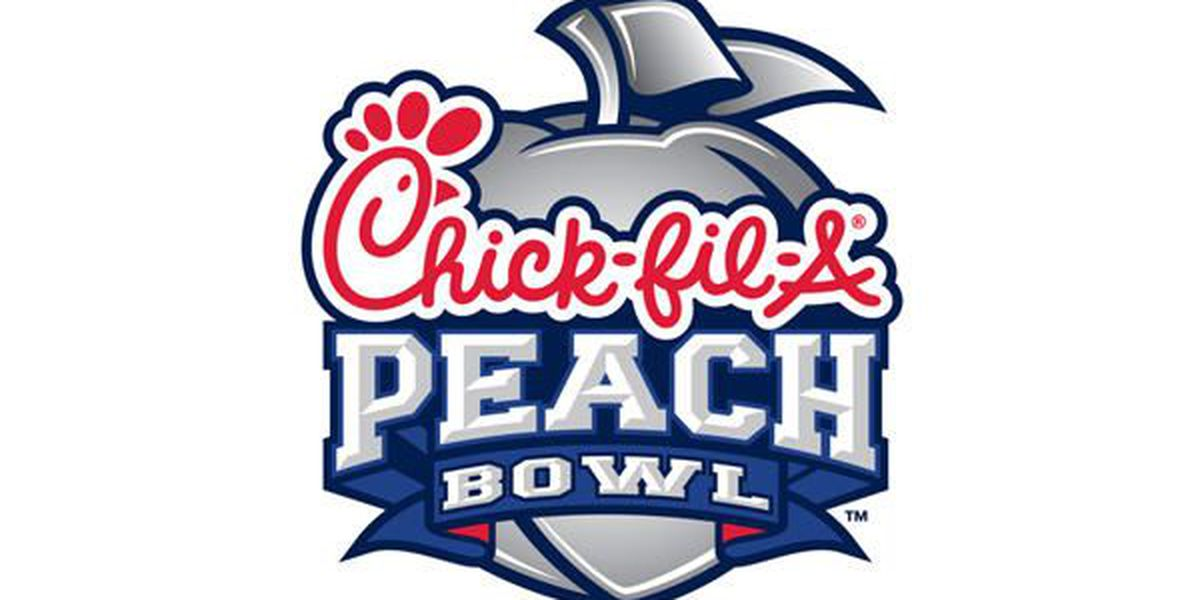 Auburn, UCF set to hit the field in Peach Bowl