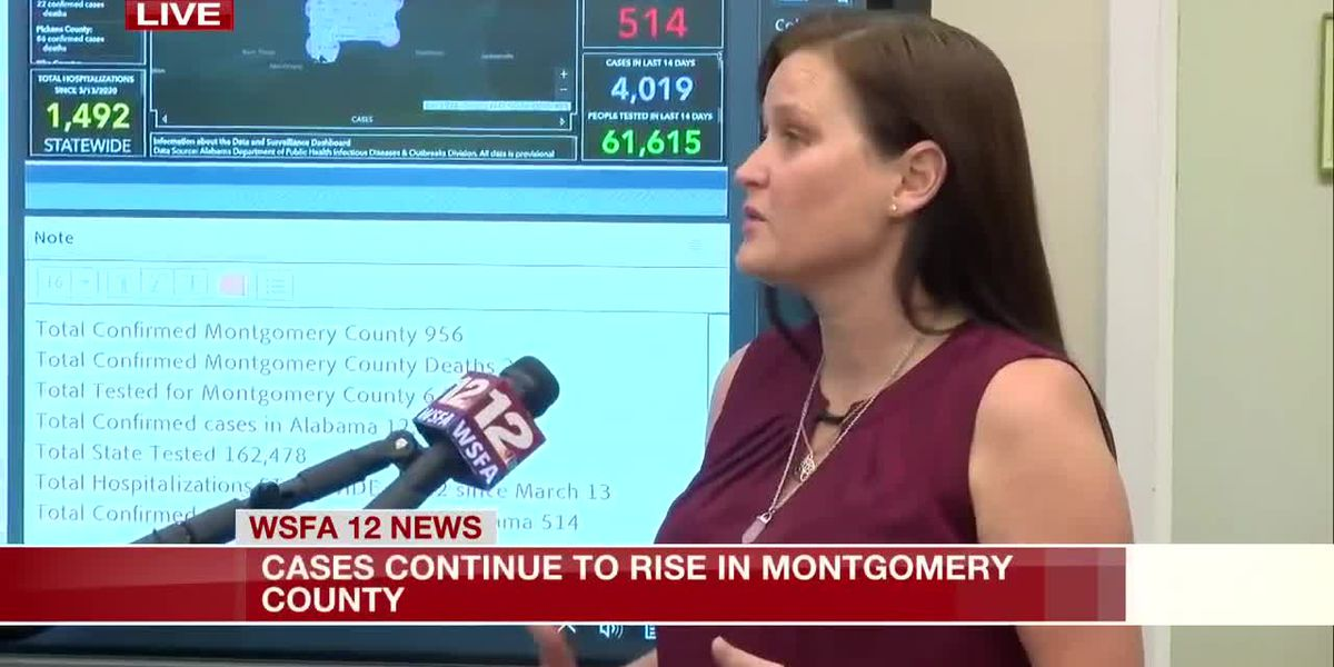 Montgomery County EMA director discusses rising COVID-19 cases
