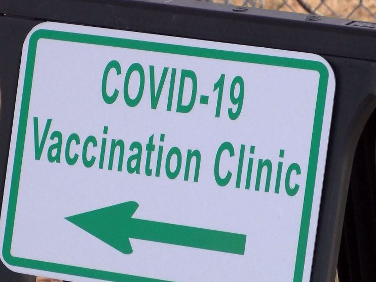 Some vaccine sites operating far below capacity in Alabama