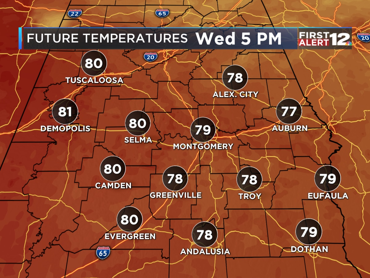 First Alert: Enjoy today, because both heat and humidity return soon