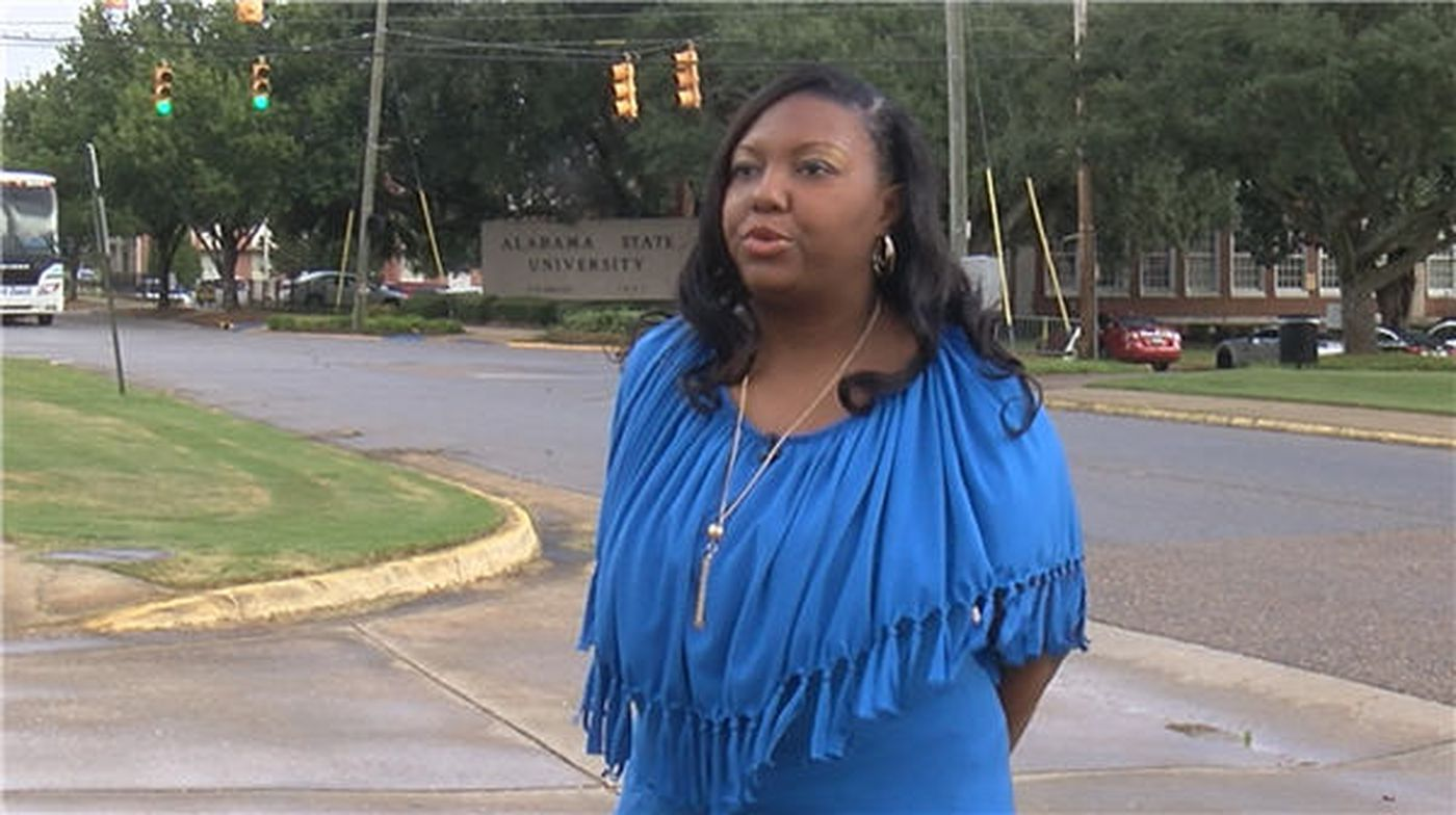 Ebony McKathren owed $27,000 in student loan debt after she graduated from Alabama State University. (Source: WSFA 12 News)