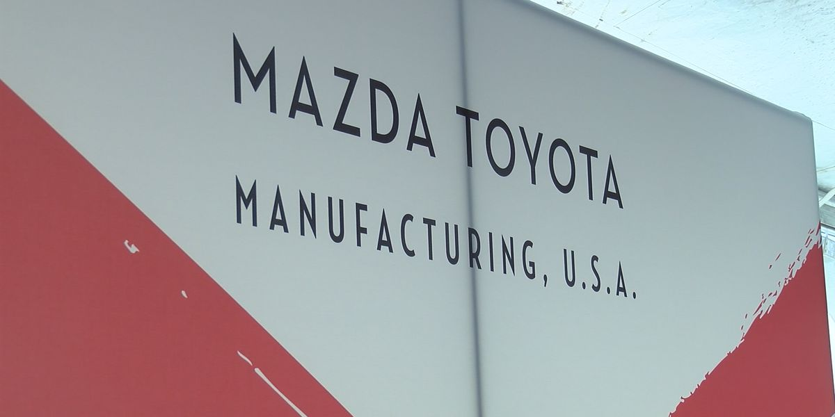 Production change announced for new Mazda Toyota plant