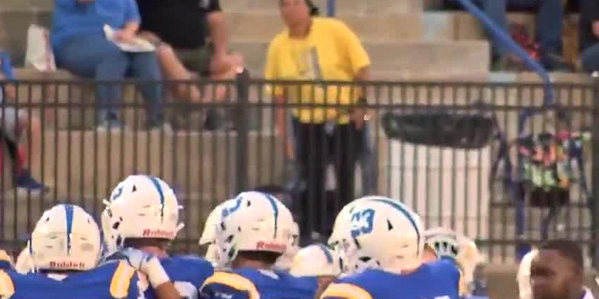 Beauregard community comes together for first football game after deadly tornadoes