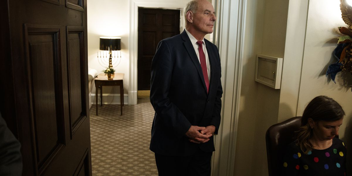 Trump's search for a new chief of staff has reality TV feel