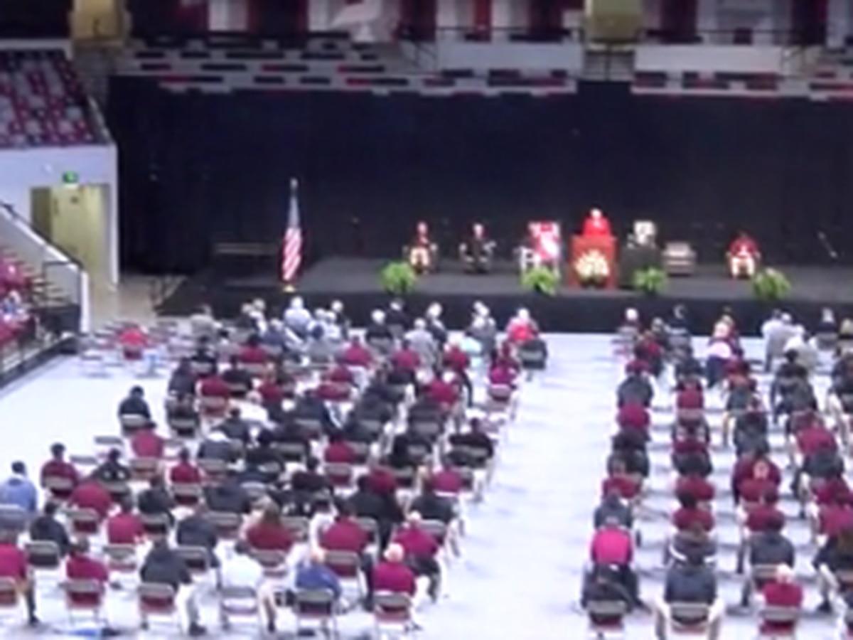Celebration of life held for Sim Byrd at Troy University