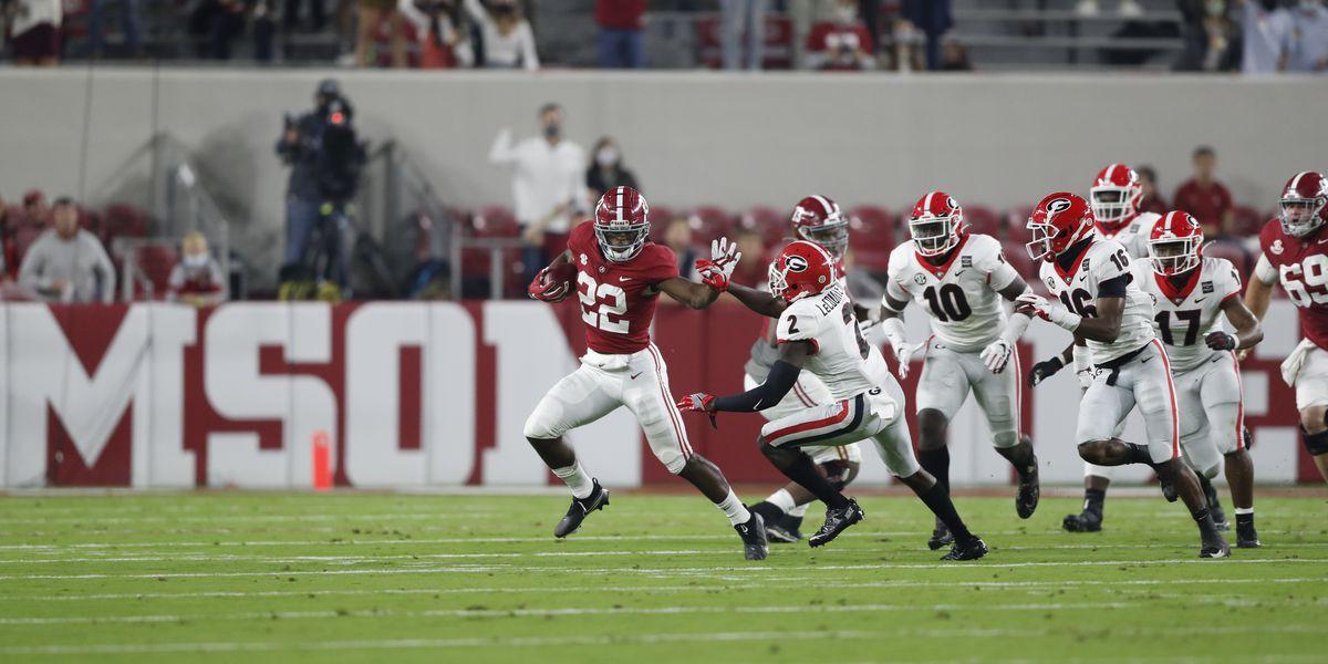 Alabama outlasts Georgia; Wins 41-24