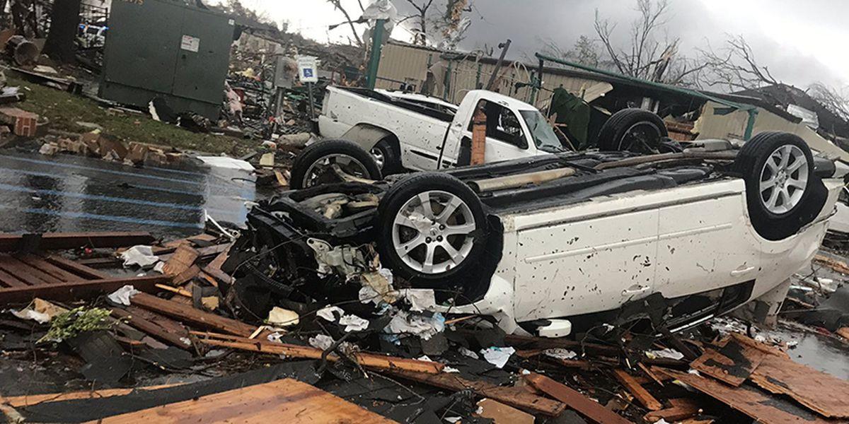 Tornado devastates Downtown Wetumpka