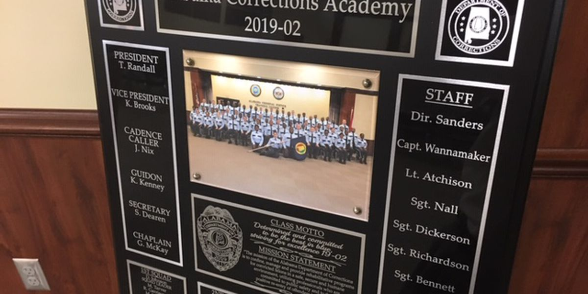 Alabama Department of Corrections graduates largest class in three years