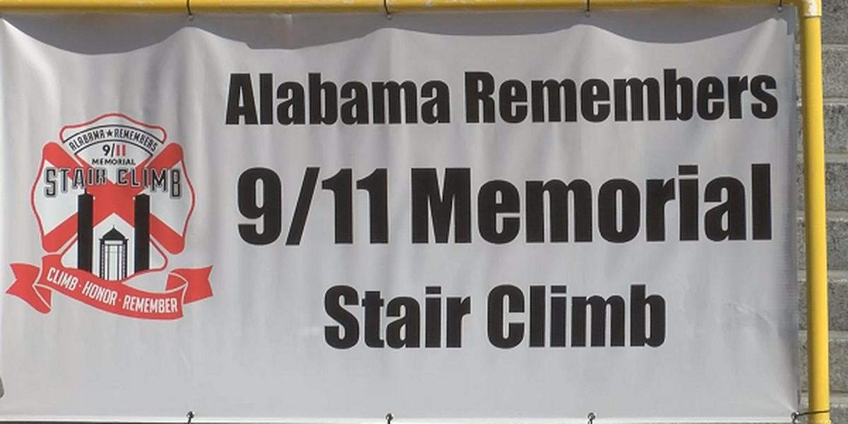 More than 300 participate in 9/11 memorial stair climb