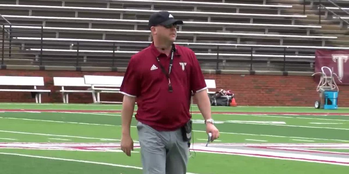 VIDEO; Troy head football coach Chip Lindsey