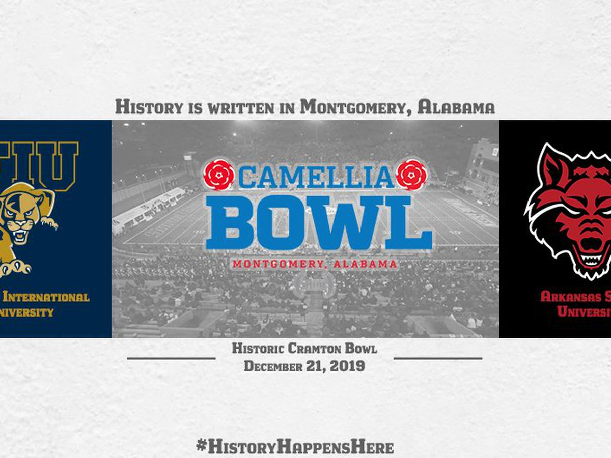 Arkansas State and FIU to meet in 6th Camellia Bowl