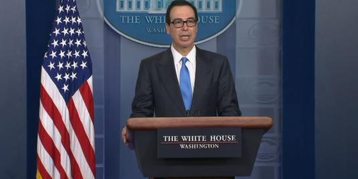 Treasury Secretary Mnuchin announces more sanctions on Iran