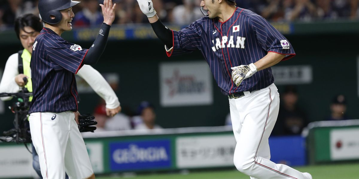 Japan beats MLB All-Stars 12-6 to take 2-0 series lead