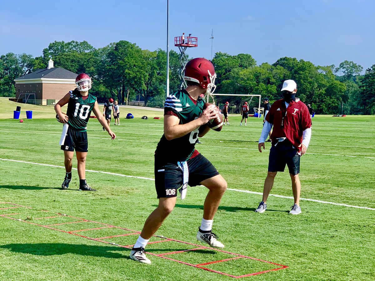 Troy Trojans open fall camp; 4 vie for QB position