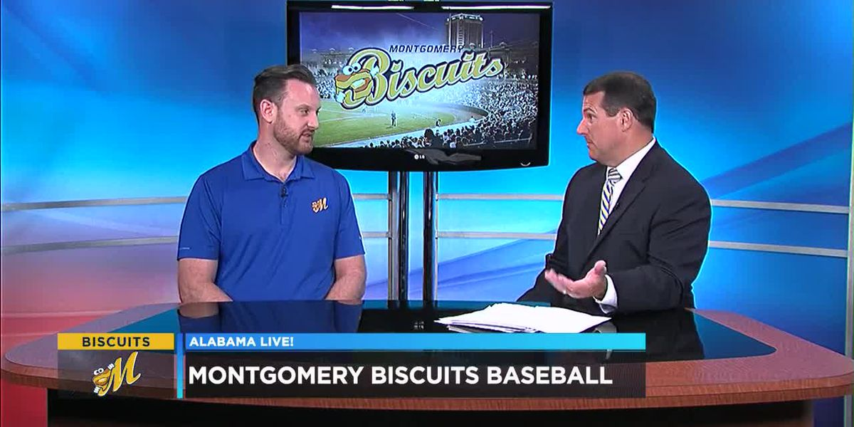 Montgomery Biscuits Baseball: The Buff Biscuit