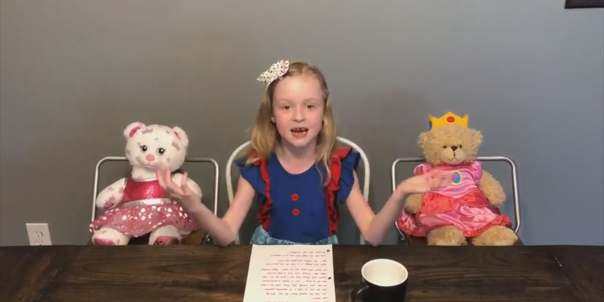 Athens girl creates news show to stay social during pandemic