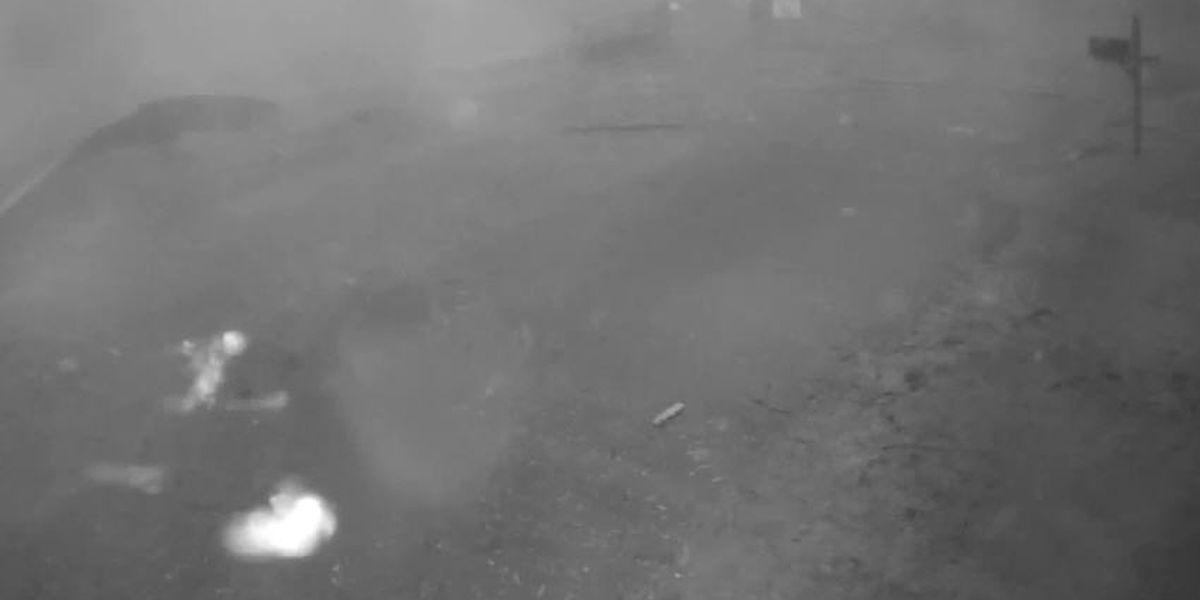 Security video captures Wetumpka tornado's devastation