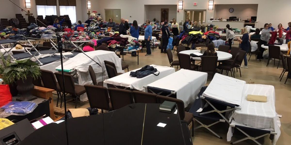 Lee County church turned into storehouse of goodness for tornado survivors