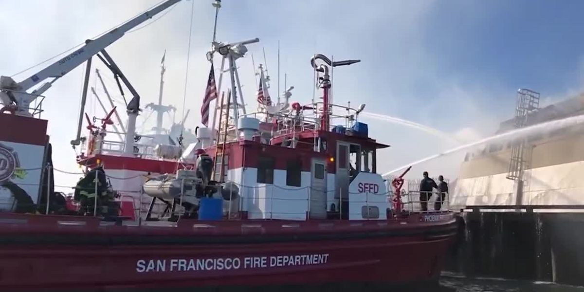 Firefighters save historic landmarks from fire at Fisherman's Wharf