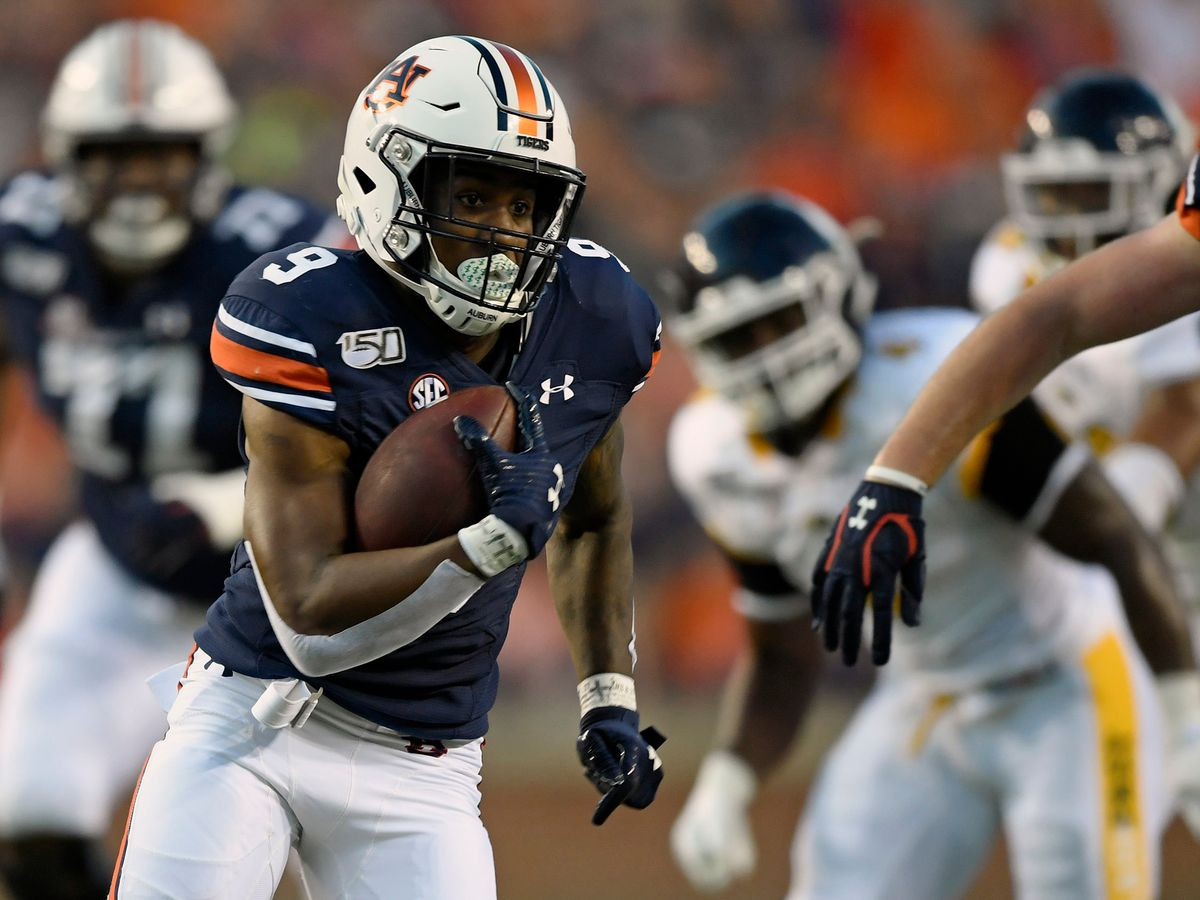 3 Tigers eclipse 100 rushing yards as No. 8 Auburn handles Kent State