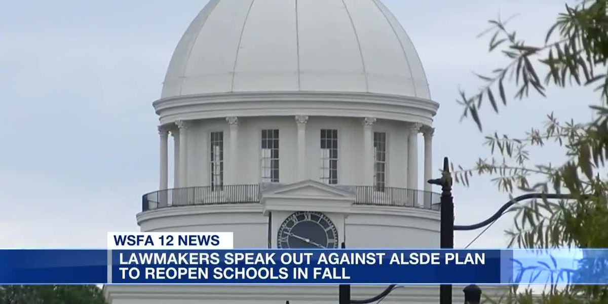 Lawmakers upset about school reopening plan