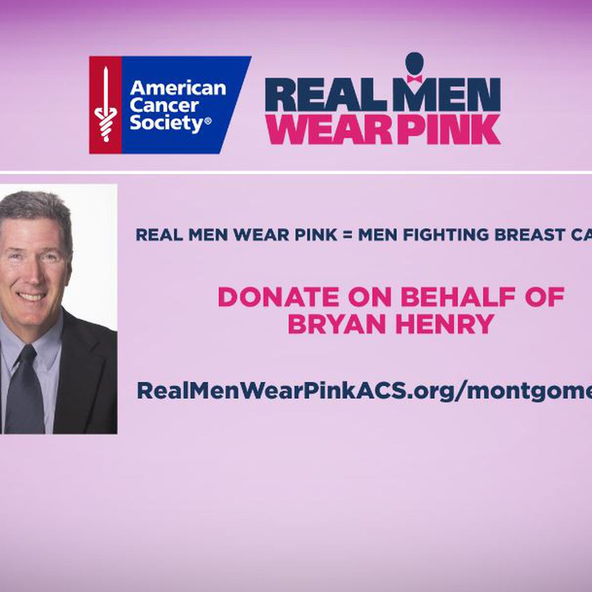 WSFA's Bryan Henry dons pink attire to raise money, awareness