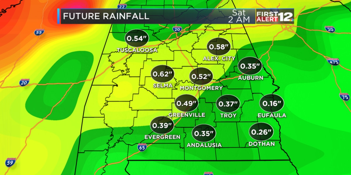 Weather Blog: Clouds first, then rain