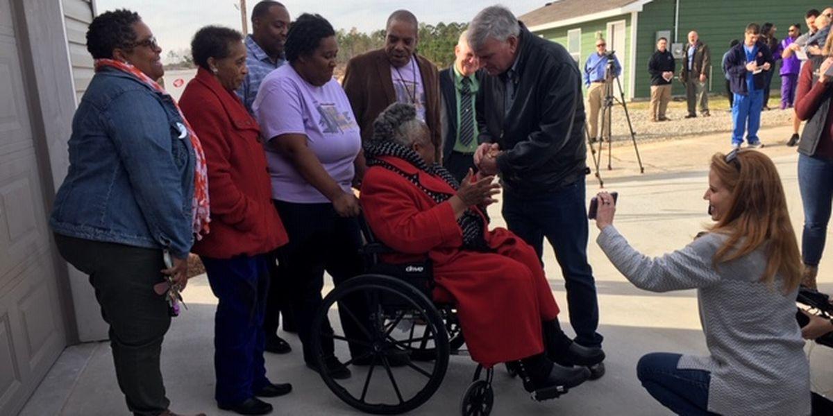 Lee County tornado survivor receives keys to new home