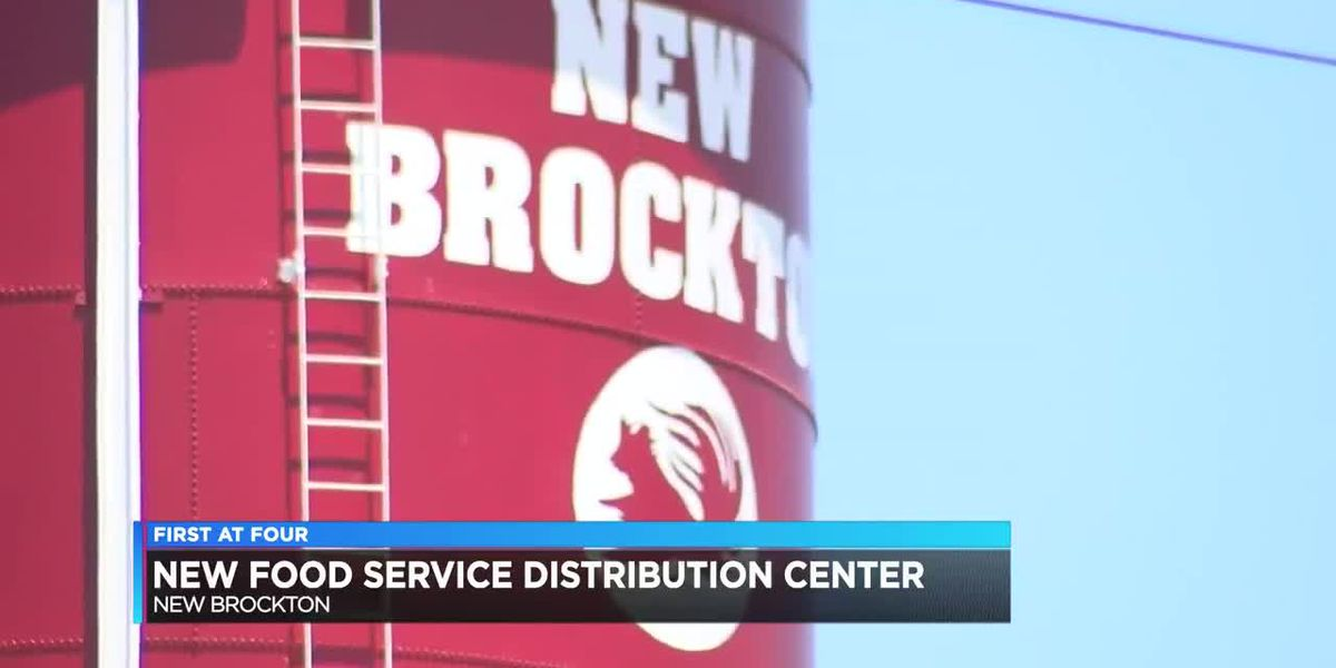 New food distribution center in the Wiregrass