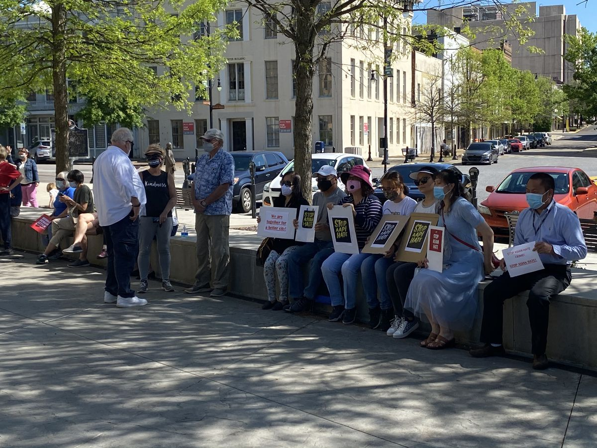 www.wsfa.com: Group stands in solidarity against Asian hate crimes
