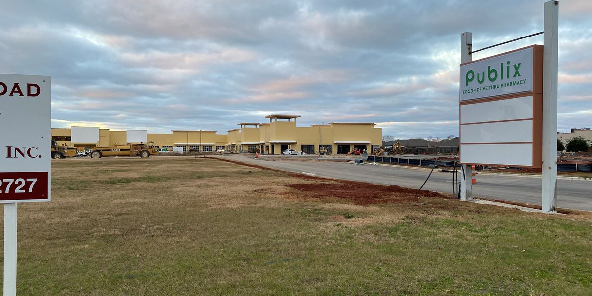 Construction underway on Pike Road retail center