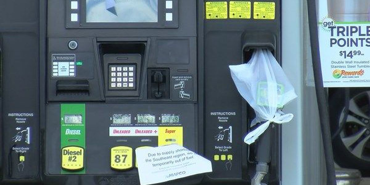 Gas stations in Auburn still without gas, others with sky high prices