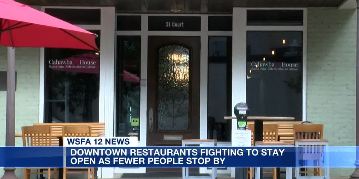 Downtown Montgomery restaurants struggling to stay open amid pandemic