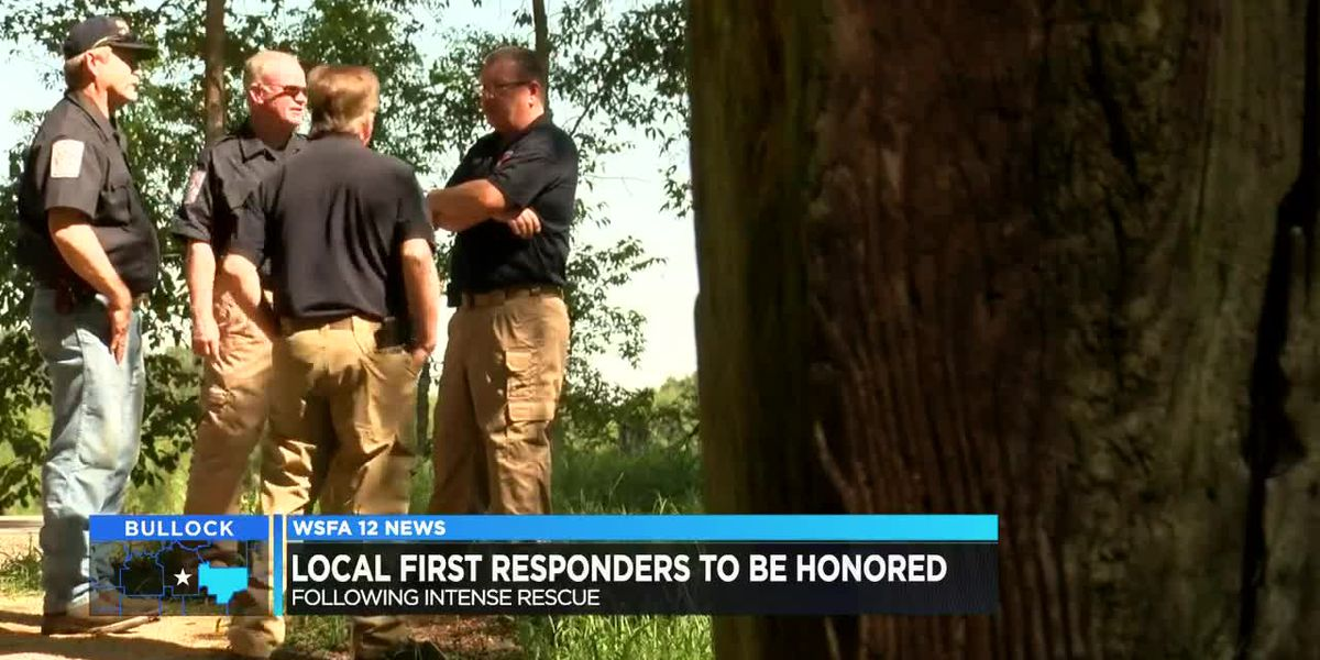 Volunteer firefighters who saved man's life to be honored
