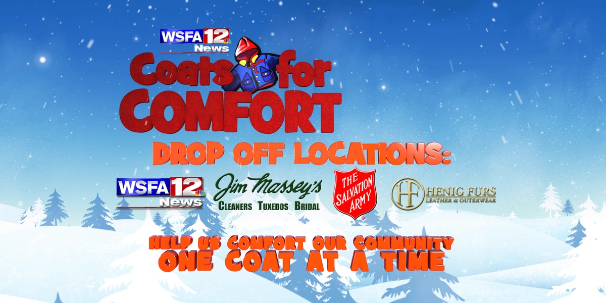 How and where to donate to the Coats for Comfort drive