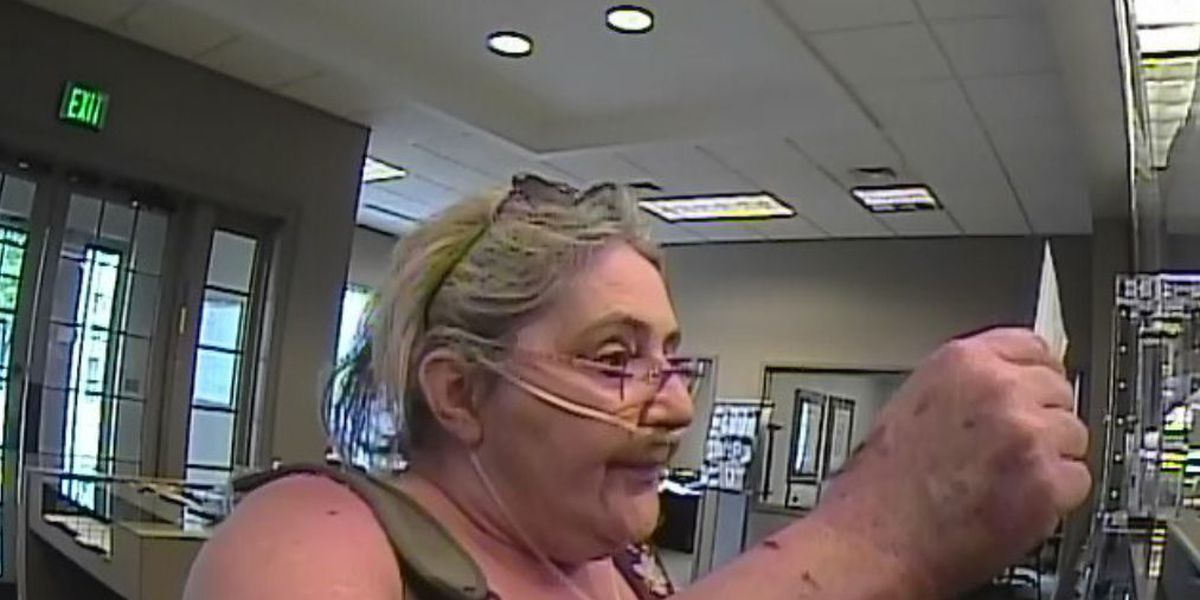 Woman on oxygen wanted in forgery case