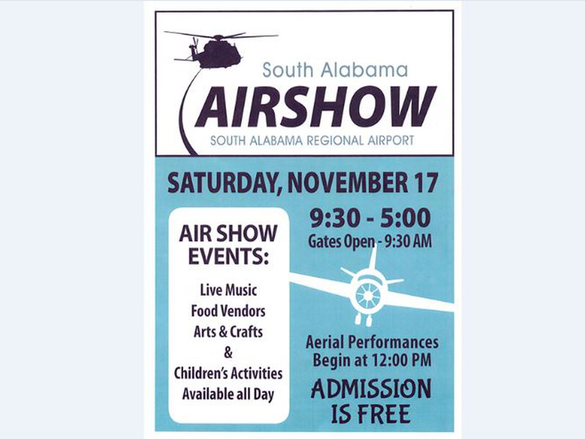 South Alabama Airshow to be held Saturday in Andalusia